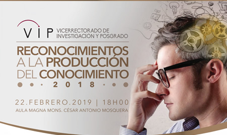 Reconocimiento a la Producción del Conocimiento 2018