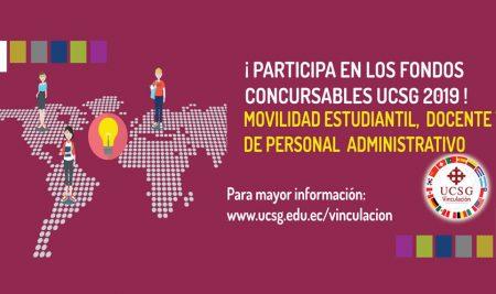 Fondos Concursables UCSG al Mundo 2019