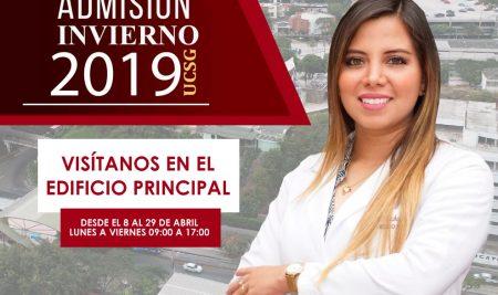 Inscripciones Abiertas – Admisión Invierno 2019