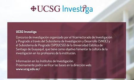 UCSG Investiga