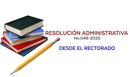 Suspensión de actividades académicas