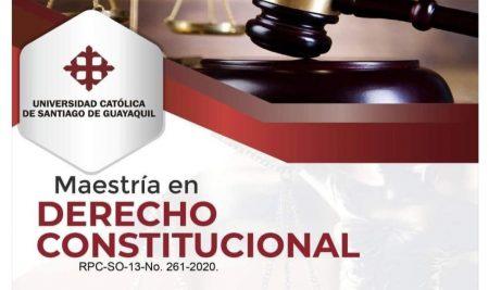Maestría en Derecho Constitucional
