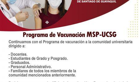 Programa de Vacunación MSP-UCSG