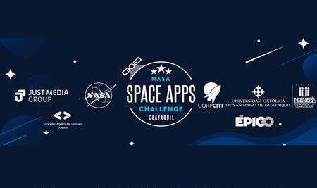 Invitación NASA SPACE APPS CHALLENGE Guayaquil 2021